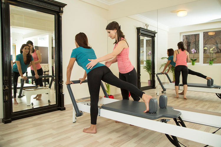 Rose Studio Pilates @ work