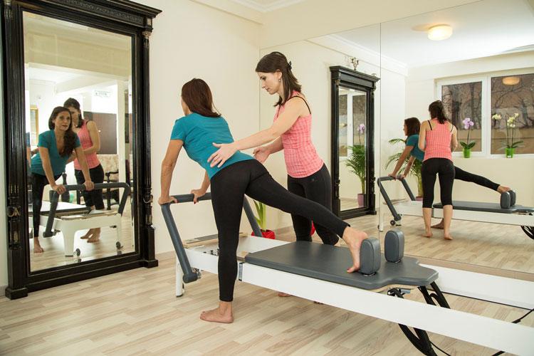 Rose Studio Pilates @ work